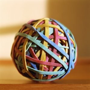 What Is In The Center Of A Rubber Band Ball 90