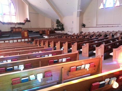 empty sanctuary